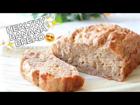 Video Healthy Banana Bread // Delicious, Easy & Vegan Recipe