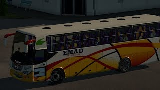 preview picture of video 'EST2: Dhaka to Gopalgonj (EMAD Enterprise,Hino Ak 1j non ac bus)Eurotruck2'