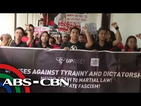 [ABS-CBN]  Mga kabataan nanguna sa mga protesta sa anibersaryo ng martial law