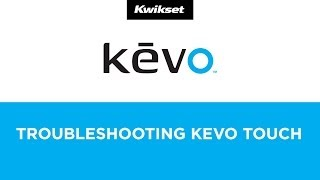 Troubleshooting Kevo Not Reacting to Touch - Kwikset Kevo Electronic Bluetooth Enabled Smart Lock