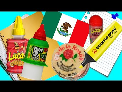 10 Ways To Sneak Mexican Candy Into Class- PART 33 | Nextraker