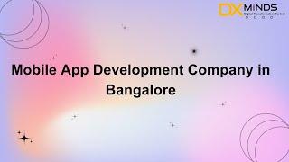 DxMinds Innovation Labs Pvt.Ltd - Video - 3