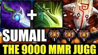 SumaiL [Juggernaut] This is Pro 9000 MMR Top Server Dota 2 Jugg 200IQ
