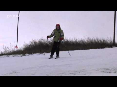 Lyžovačka ve Ski areálu Kvasejovice