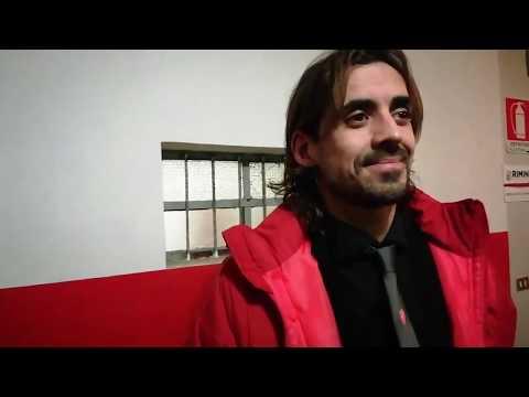 Sala stampa Rimini-Triestina: Pablo Granoche