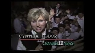 WPXI 11 PM News (May 9, 1986)