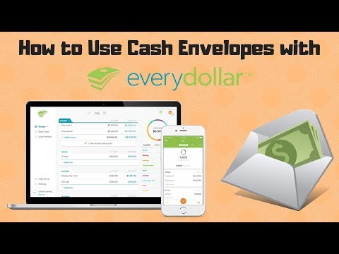 EveryDollar Tutorial: Managing Cash Envelopes