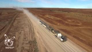 Road Train in the Outback
