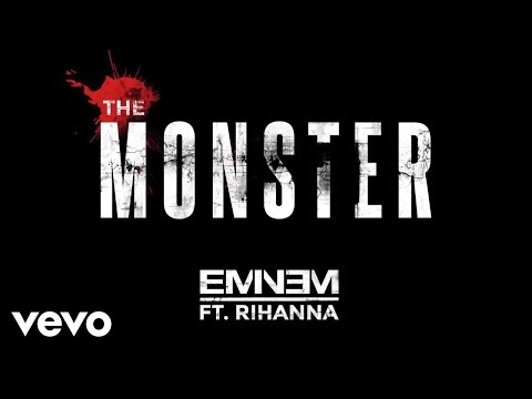 The Monster performed by Eminem; features Rihanna