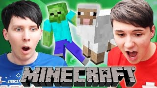 Dan and Phil play MINECRAFT