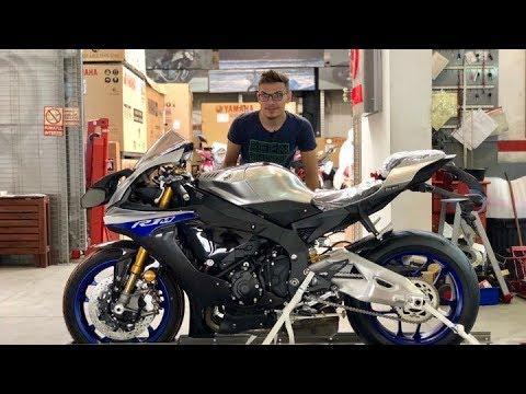 2018 Yamaha R1M Unboxing & Start-up | 200+ HP Sound