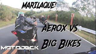 MARILAQUE First ride, 4 Yamaha Aerox