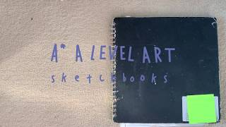 A* A Level Art Sketchbook Tour