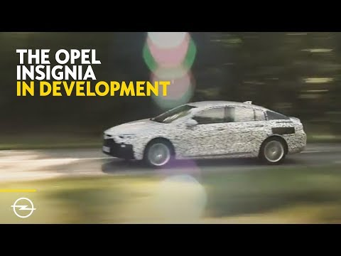 The new Opel Insignia Grand Sport | In Final Development Stage