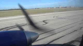 preview picture of video 'Aterrizaje Aero Caribbean,Vuelo CL/VAR, Varadero, Cuba.'