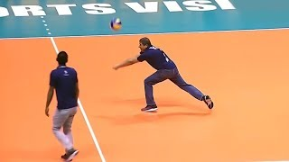 Crazy Coaches Skills In Volleyball (HD)