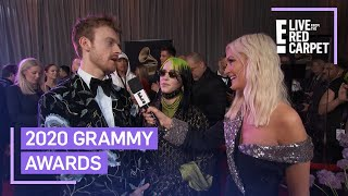 Billie Eilish & Finneas Celebrate Early Grammy Wins | E! Red Carpet & Award Shows