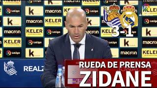 Real Sociedad 3-Real Madrid 1 | Rueda De Prensa De Zidane | Diario AS