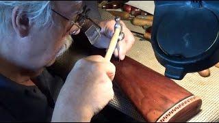 Gunstock Stippling Tips & Techniques  Kurts Checkering ~ Rex Reviews