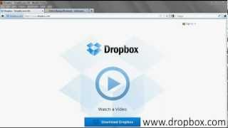 How To Tutorial: Signing Up for Free Dropbox Account