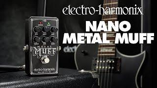 Electro Harmonix Nano Metal Muff Video