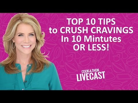 JJ Virgin's Top 10 Tips To Crush Cravings in 10 Minutes Or Less