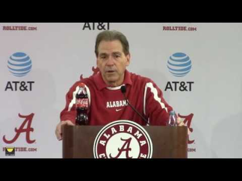 Nick Saban talks about hiring Steve Sarkisian