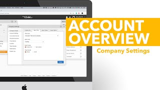 Account Overview - Company Settings