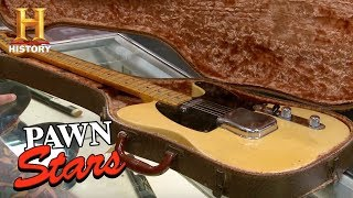 Pawn Stars: 1952 Fender Telecaster Guitar | History