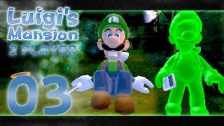 Luigi's Mansion 3DS - Part 3: WHERE IS MARIO?! (2 Player)