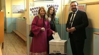 Election présidentielle en Slovaquie : Caputova vote à Bratislava | AFP Images