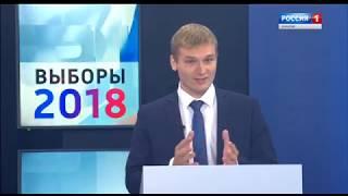 Дебаты 2018.09.20 Зимин - Коновалов Россия 1