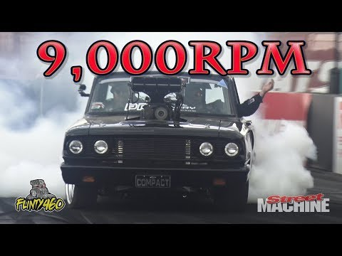 EVER WONDERED WHAT A BLOWN SMALL BLOCK SOUNDS LIKE AT 9,000RPM!!