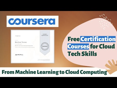 Coursera Free Machine Learning Courses With Certificate ...