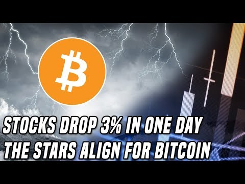 The Bitcoin Storm | Stocks Sell-Off As Bitcoin Sets Up For A Breakout