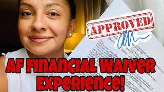 How To Write the Military Financial Waiver Letter | MEPS Bound !