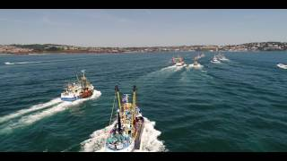 Port of Brixham Trawler Race 2017