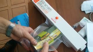 Вакууматор Freshpack Pro QH-1 от компании Группа Интернет-Магазинов GiX - видео