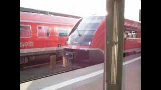 preview picture of video 'BR 641 (DB) als Main-Saale-Express nach Bamberg (1) - Hof Hbf.'
