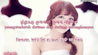 Girls Day (걸스데이)  - Two Of Us (둘이서) (english sub+romanization+hangul)
