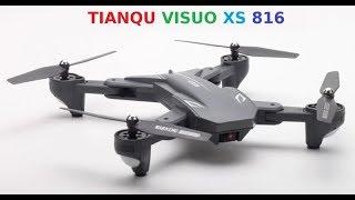 Drone Visuo XS816 Full HD 1080p é bom? teste ir voo