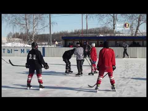 Хоккейный праздник в с. Шафраново