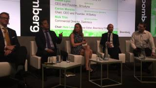 Carlos Moreira presenting at the Bloomberg Technology Conference: Smarter Cities london