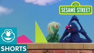 Sesame Street: Grover and Rosita and Triangles