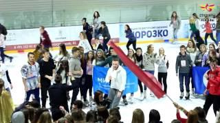 Ледовое безумие. Студенты Москвы