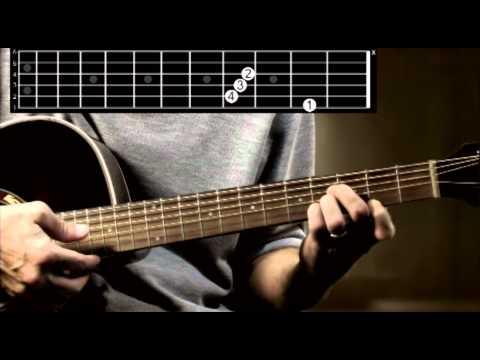 B Major guitar chord tutorial