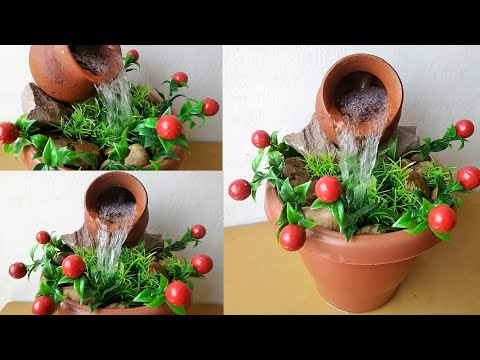 How to make tabletop fountain very easy