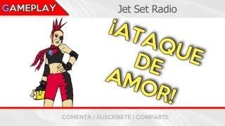 preview picture of video 'Dreamcast Games | Jet Set Radio Walkthrough - Ataque de Amor - JET'