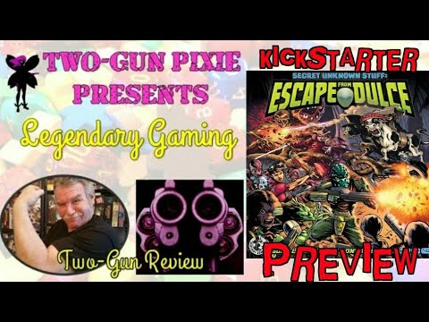 Two-Gun Review 018 - Secret Unknown Stuff: Escape From Dulce by Sentient Cow Games