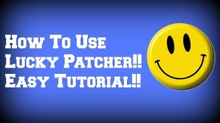 How To Use Lucky Patcher!! Easy Tutorial!! [ No - Root ]